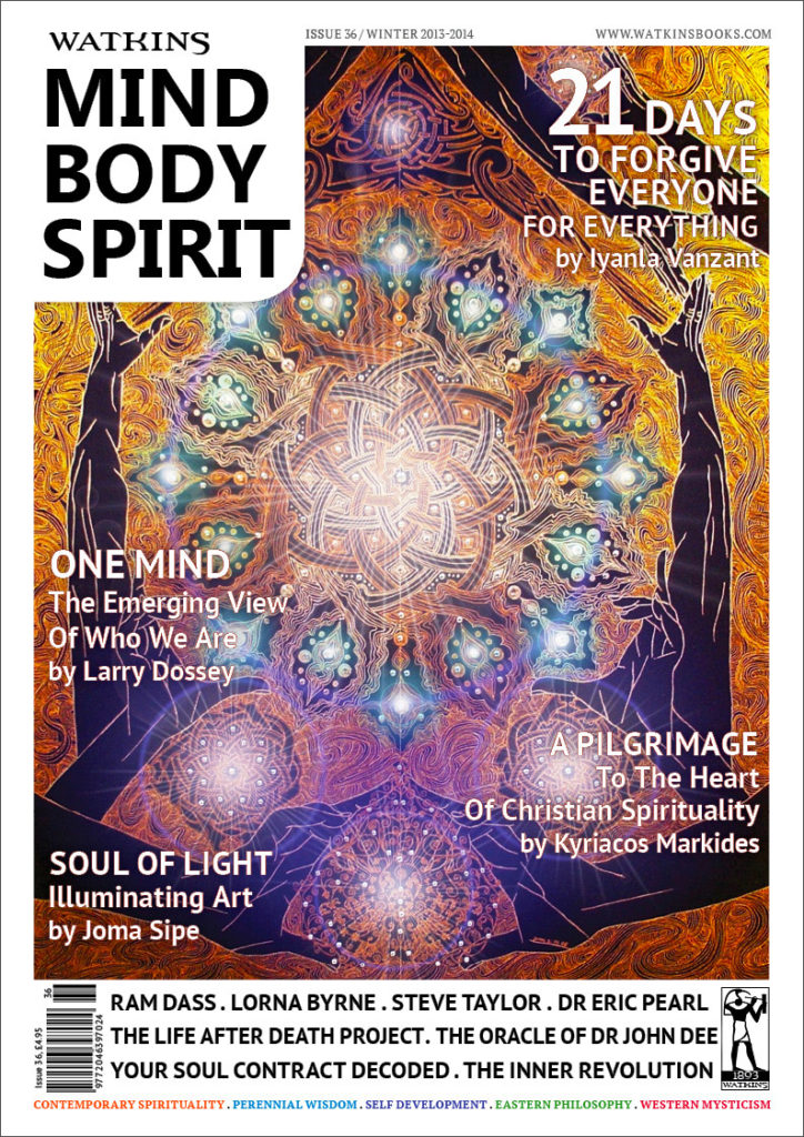 Mind Body Spirit Magazine Cover Article by Luke Hancock author of The Inner Revolution